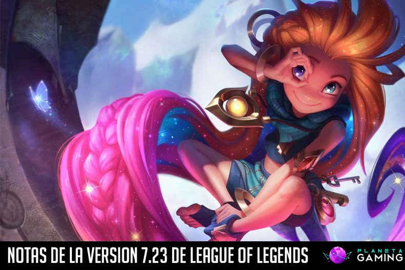 Notas de la version 7.23 de League of Legends
