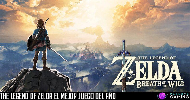 The Legend of Zelda El Mejor Juego del Año