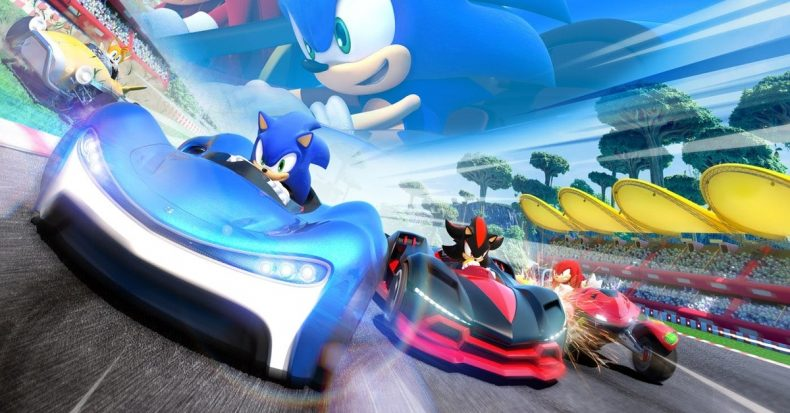 Sonic Team Racing content