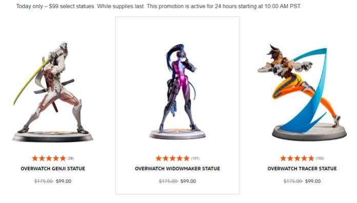 Estatuas a $99 USD
