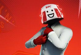 KFC Fortnite skin