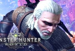 Geralt de Rivia Monster Hunter World