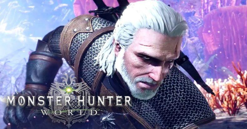 Geralt de Rivia Monster Hunter World