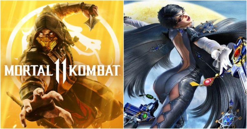 Bayonetta Mortal Kombat 11