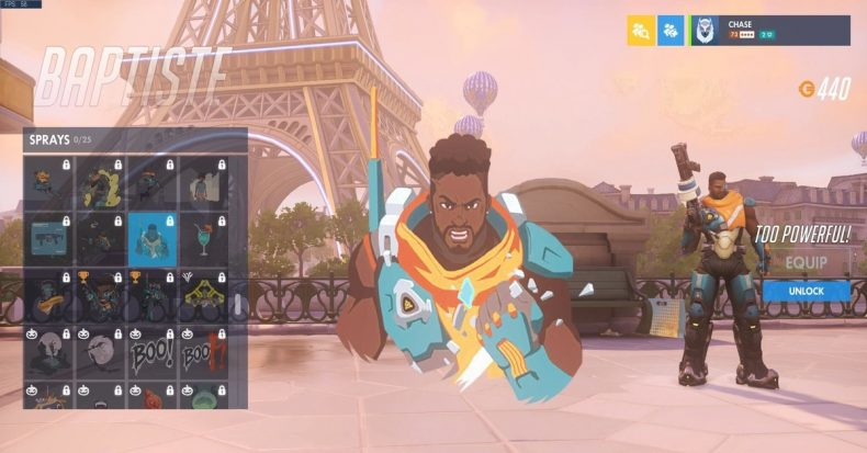 Overwatch Baptiste Over 9000