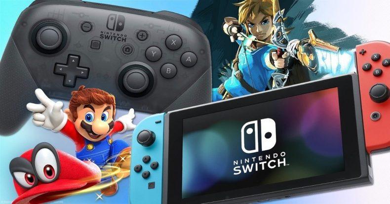 Nintendo Switch 2 años