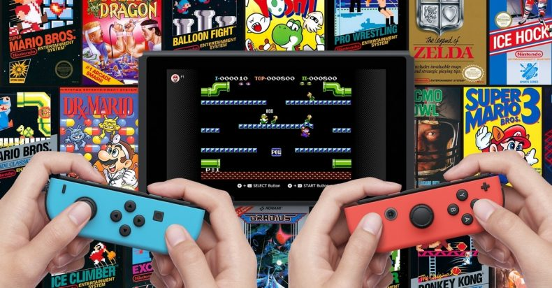 Nintndo Switch Online NES Games