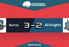 Isurus Gaming VS All Knights Liga Movistar