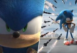 Sonic movie redesign trailer