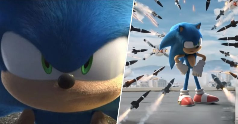 Sonic movie redesign trailer