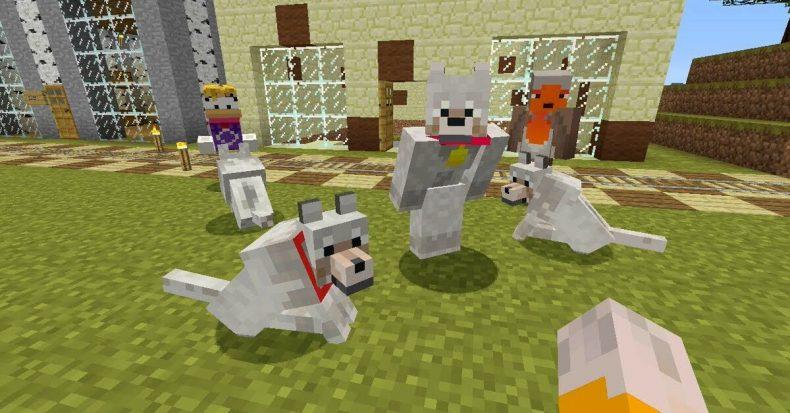 César Millán Minecraft Dogs