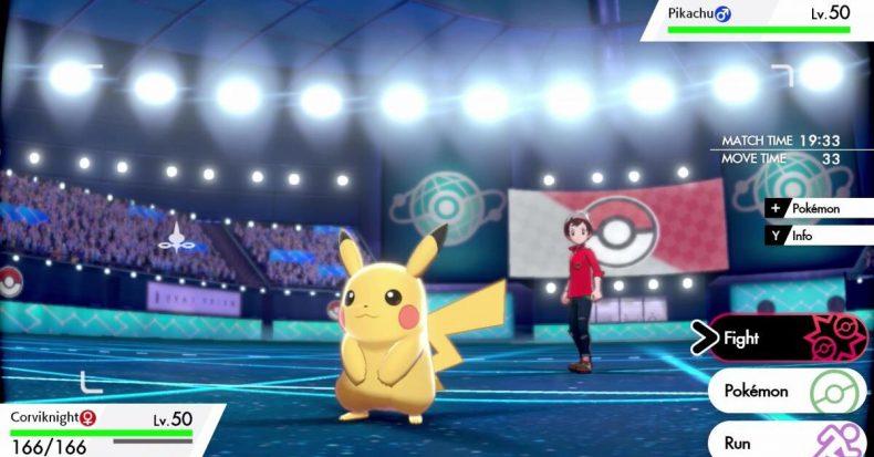 Pokémon Sword & Shield Battle Stadium