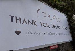 Hello Games No Man's Sky Thank You