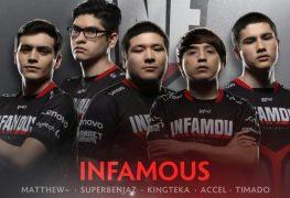 Infamous Gaming Top-8 DOTA 2