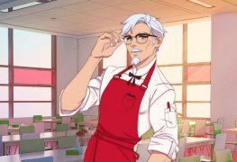 KFC Dating Sim Coronel Sanders