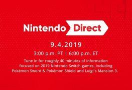 Nintendo Direct september 4