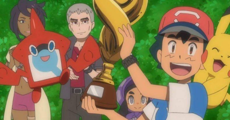 Ash Ketchum wins Pokémon League