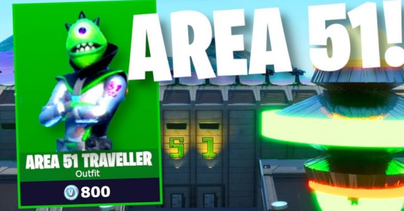 Fortnite Area 51