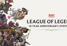 League of Legends 10th anniversary