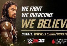 2K Games leukemia donation
