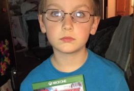 Xbox One kid mistaken game