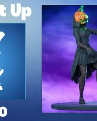 Epic Games Fortnite Dancing Pumpkin Man