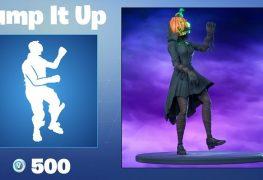 Epic Games Fortnite Dancing Pumpkin Man