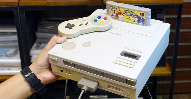 Nintendo PlayStation prototype auction