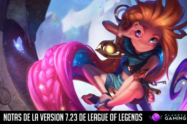 Notas de la version 7.23 de League of Legends