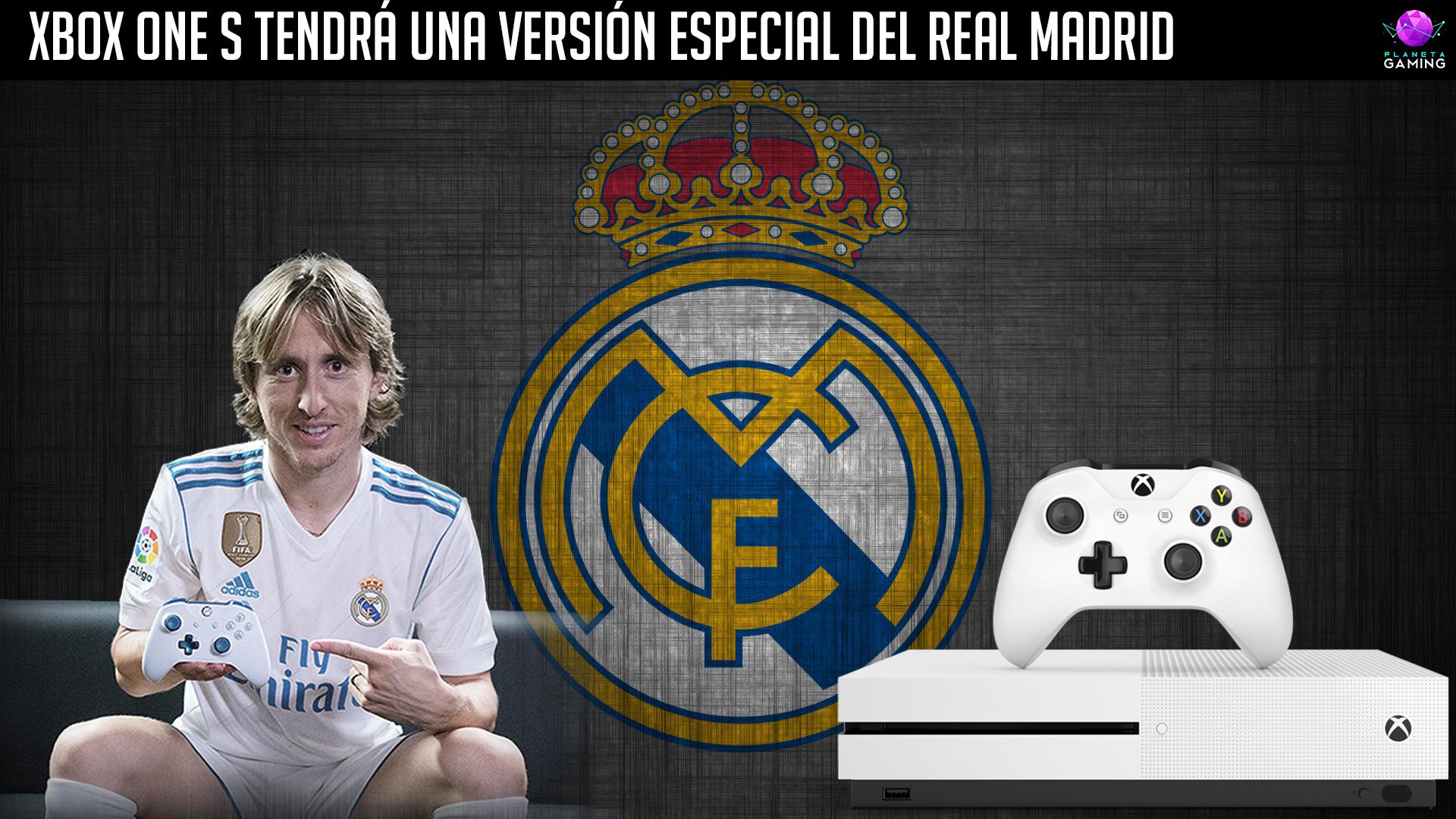 Xbox One S tendrá una versión especial del Real Madrid