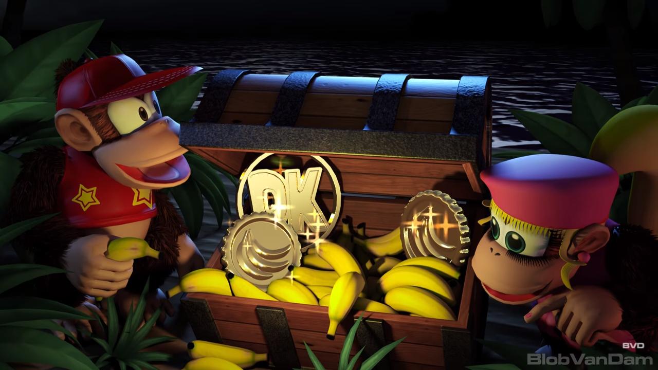 Fan made de Donkey Kong Country 2 en HD