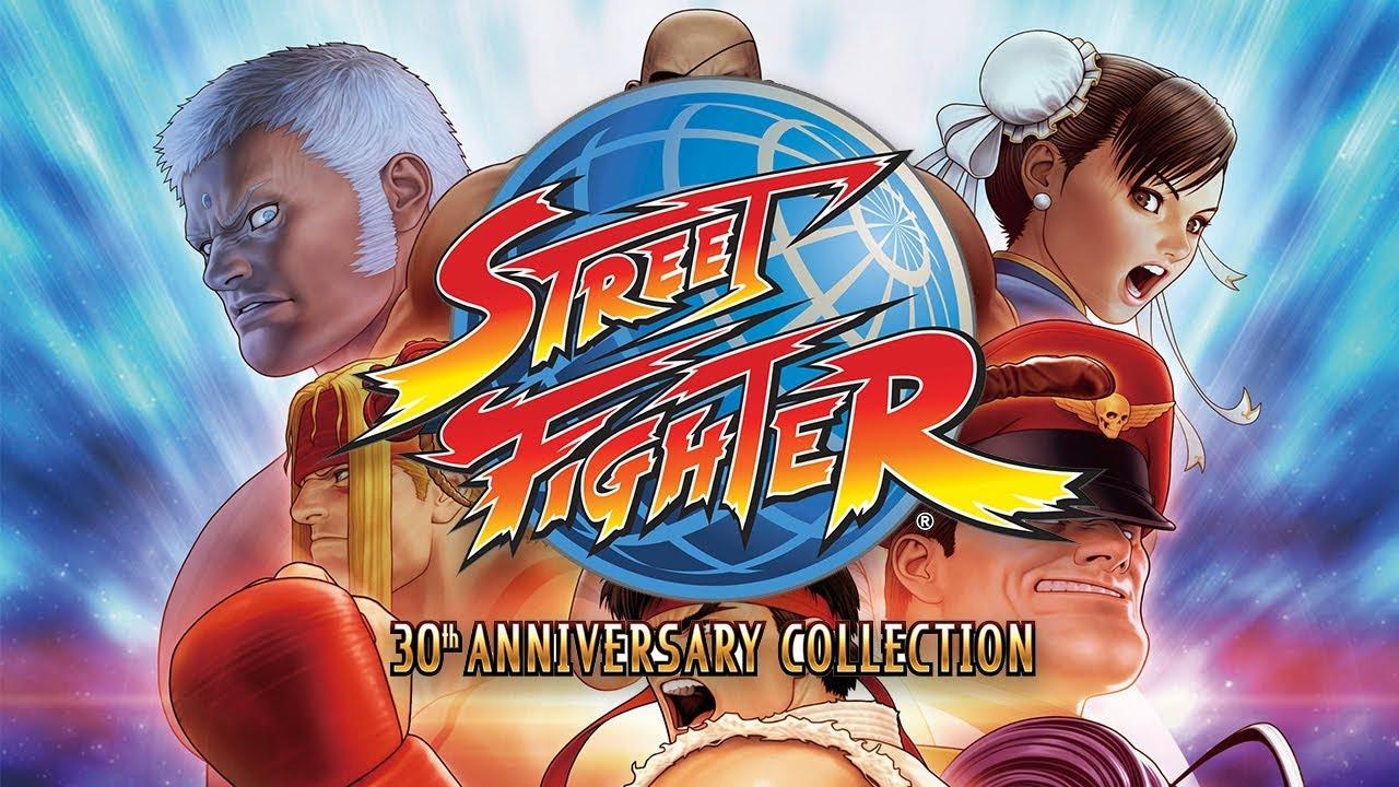 Tráiler de Street Fighter 30th Anniversary Collection para Nintendo Switch
