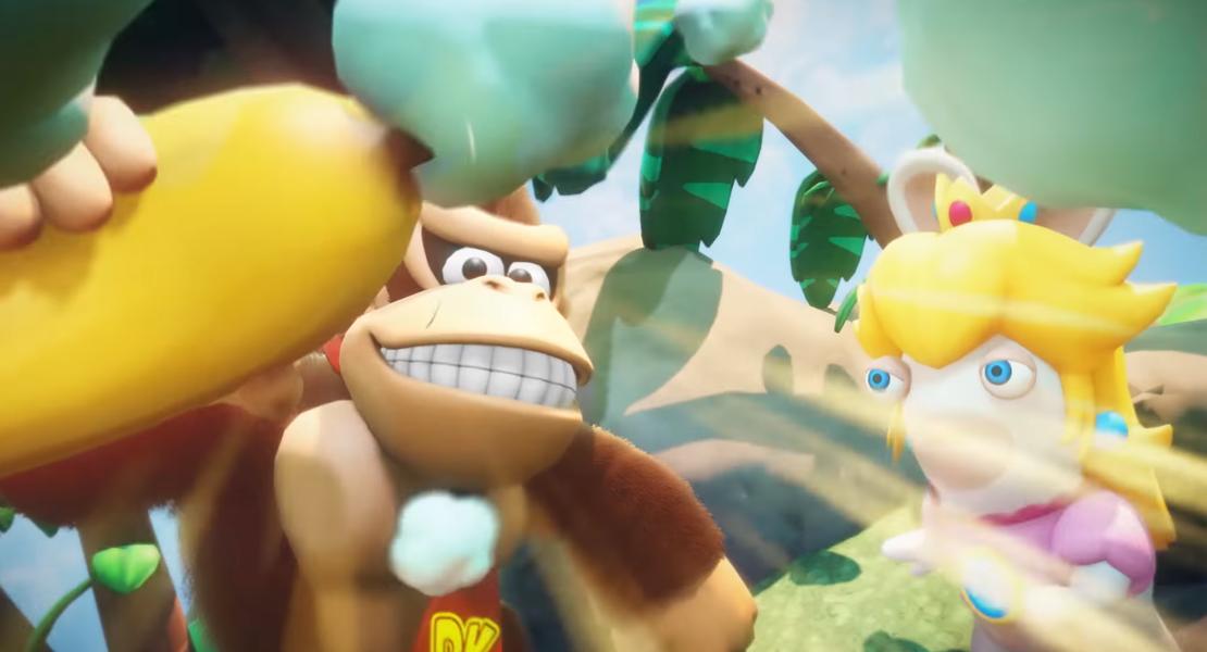 Donkey Kong se une a Mario + Rabbids Kingdom Battle