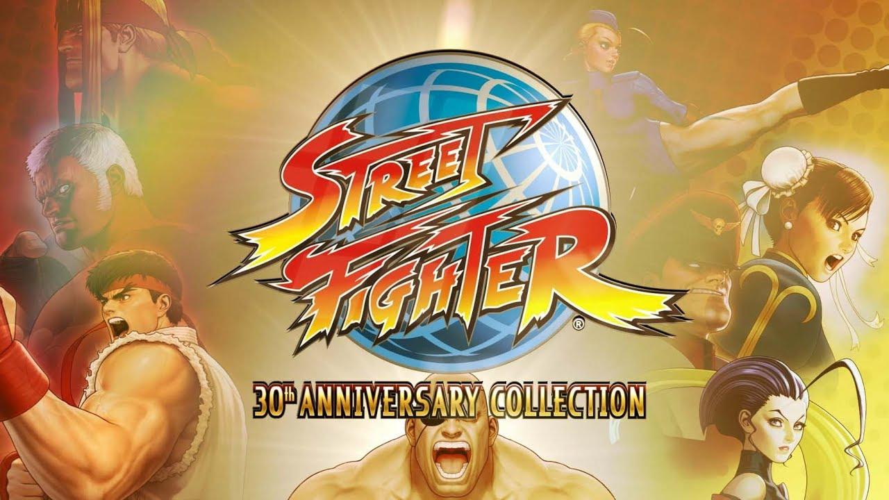 Vuelve a tus días de infancia con este gameplay de Street Fighter 30th Anniversary Collection