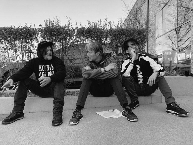 El detrás de escena de Death Stranding con Reedus y Mikkelsen