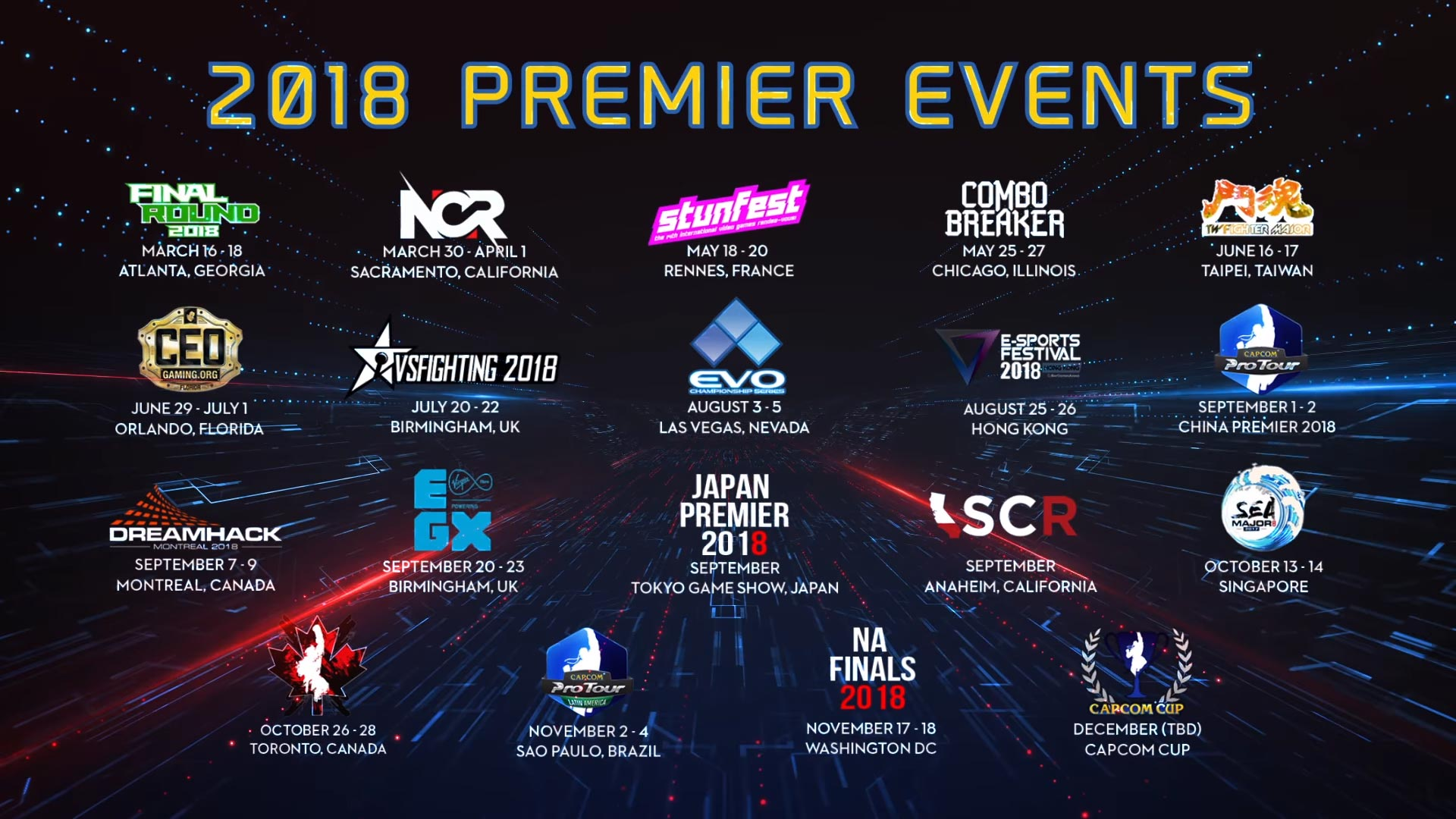 La Capcom Pro Tour comienza a tomar forma