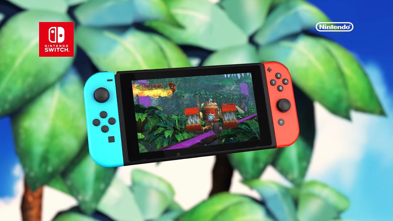 ¡Salvajemente divertido! el nuevo trailer de Donkey Kong para Switch