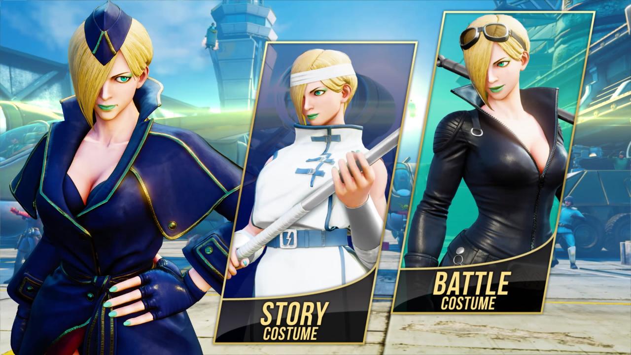 Falke estará disponible muy pronto en Street Fighter V: Arcade Edition