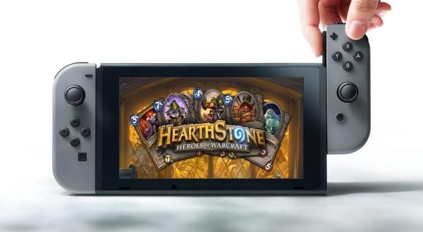 Hearthstone no estará disponible en Switch, al menos no de momento.
