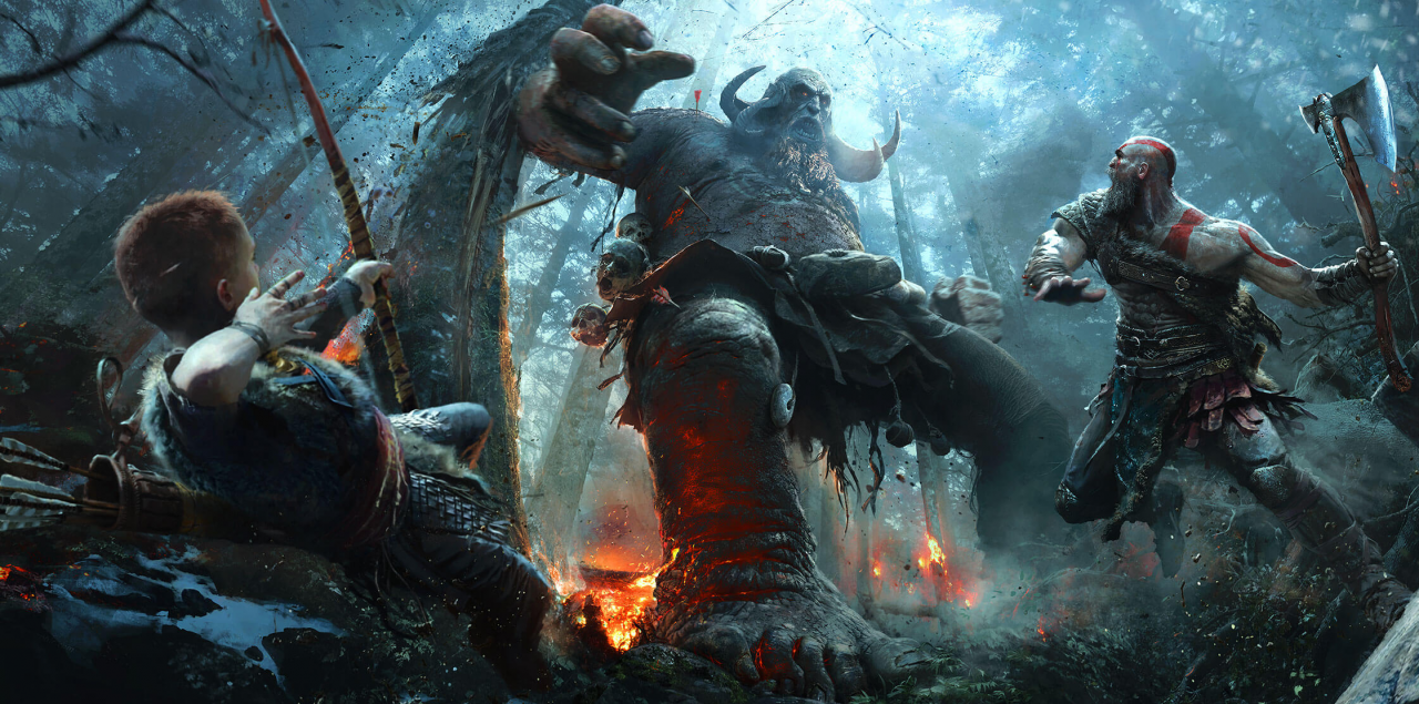 God of War lider en ventas en UK