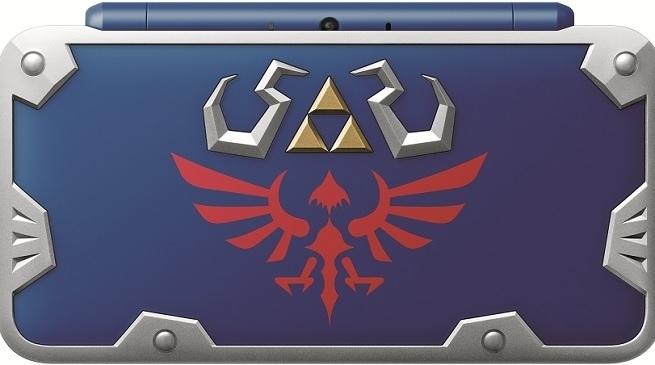 Nintendo anuncia la New 2DS XL Hylian Shield de The Legend of Zelda.
