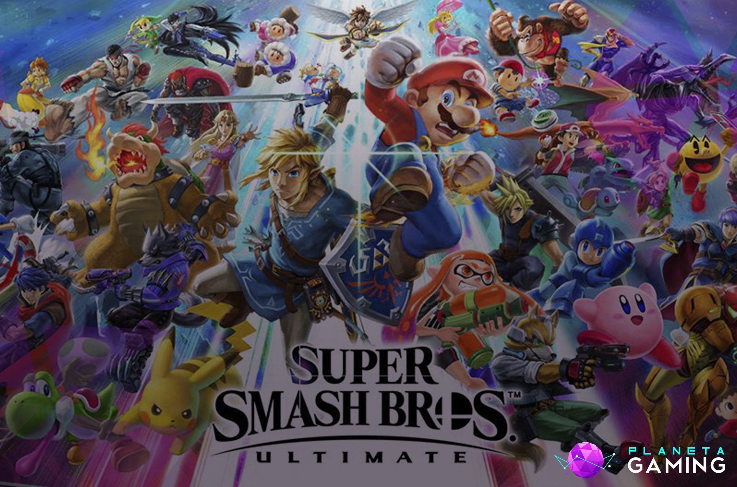 Así será el nuevo Super Smash Bros ULTIMATE