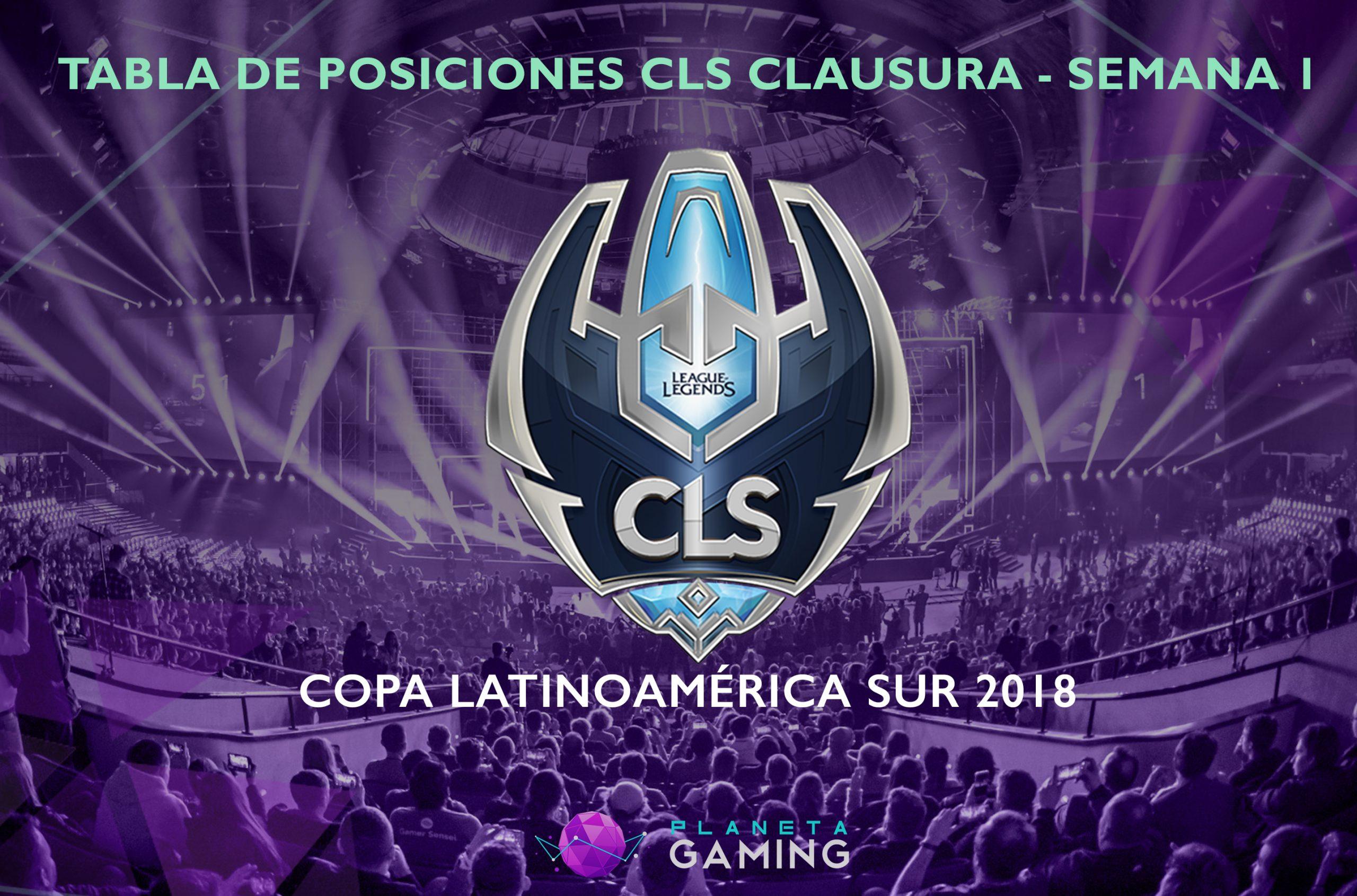 Resumen de la Semana 1 de la CLS Clausura 2018