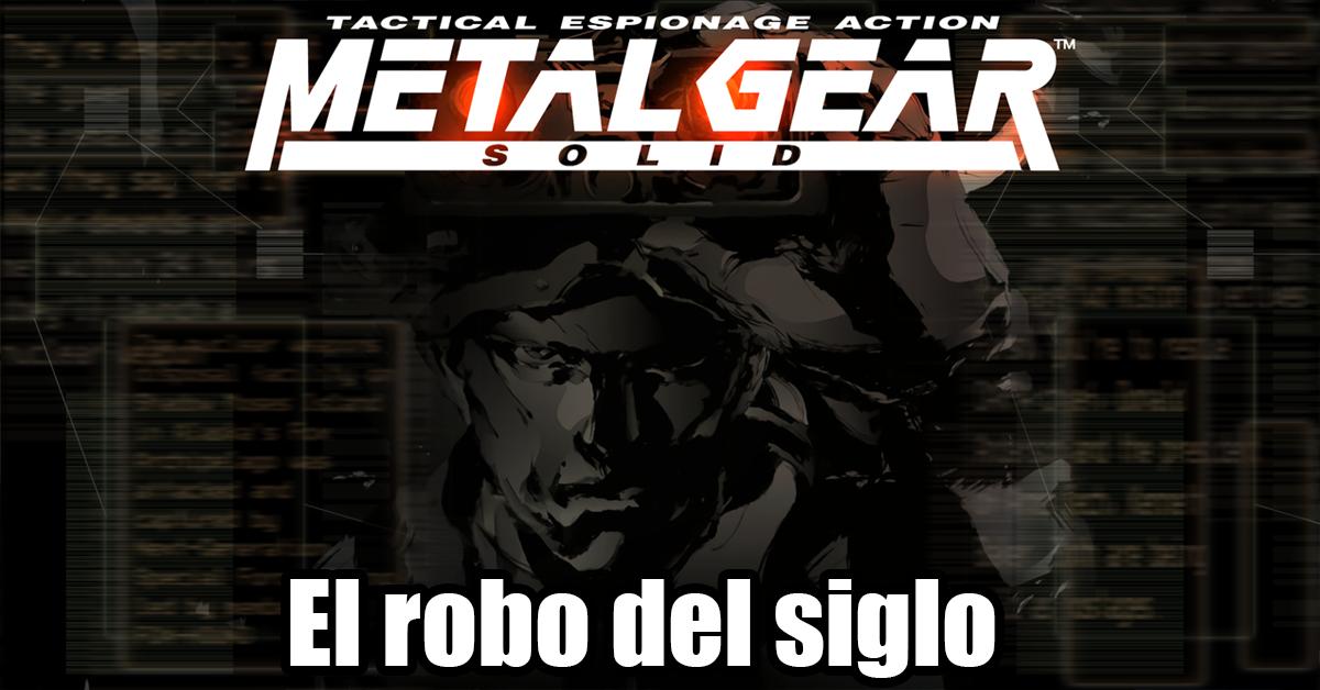 Alguien le puso la música de Metal Gear Solid  a este robo y el resultado es hilarante.