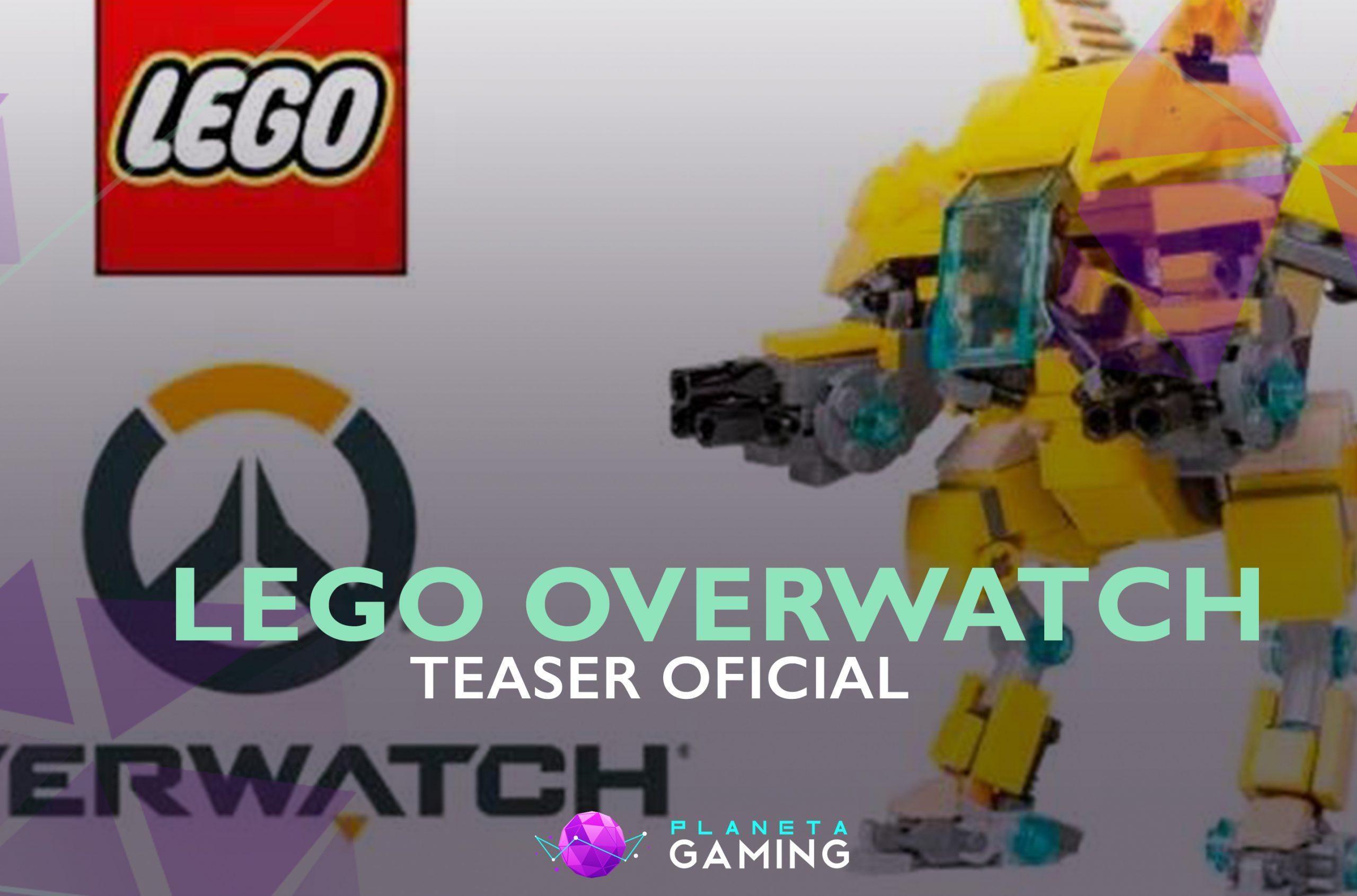 Teaser de las figuras de Lego y Overwatch