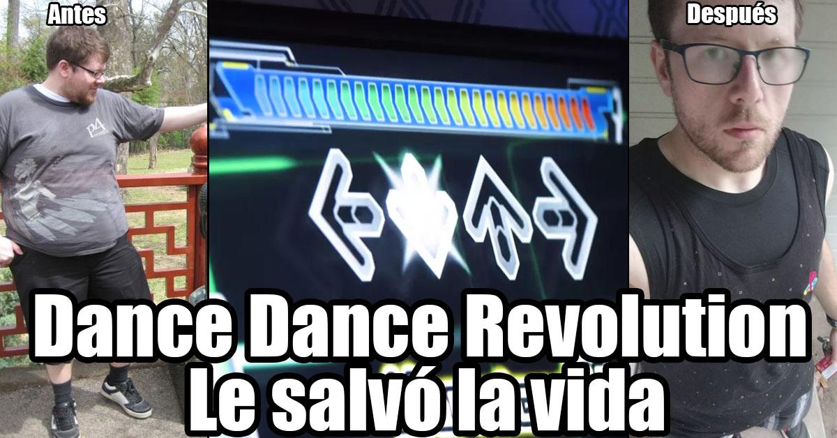 Perdió mas de 125 libras jugando Dance Dance Revolution