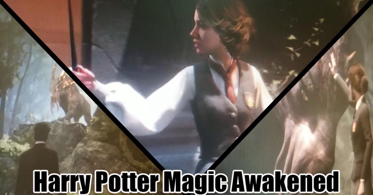 Se filtra un vídeo del juego RPG mundo abierto de Harry Potter.