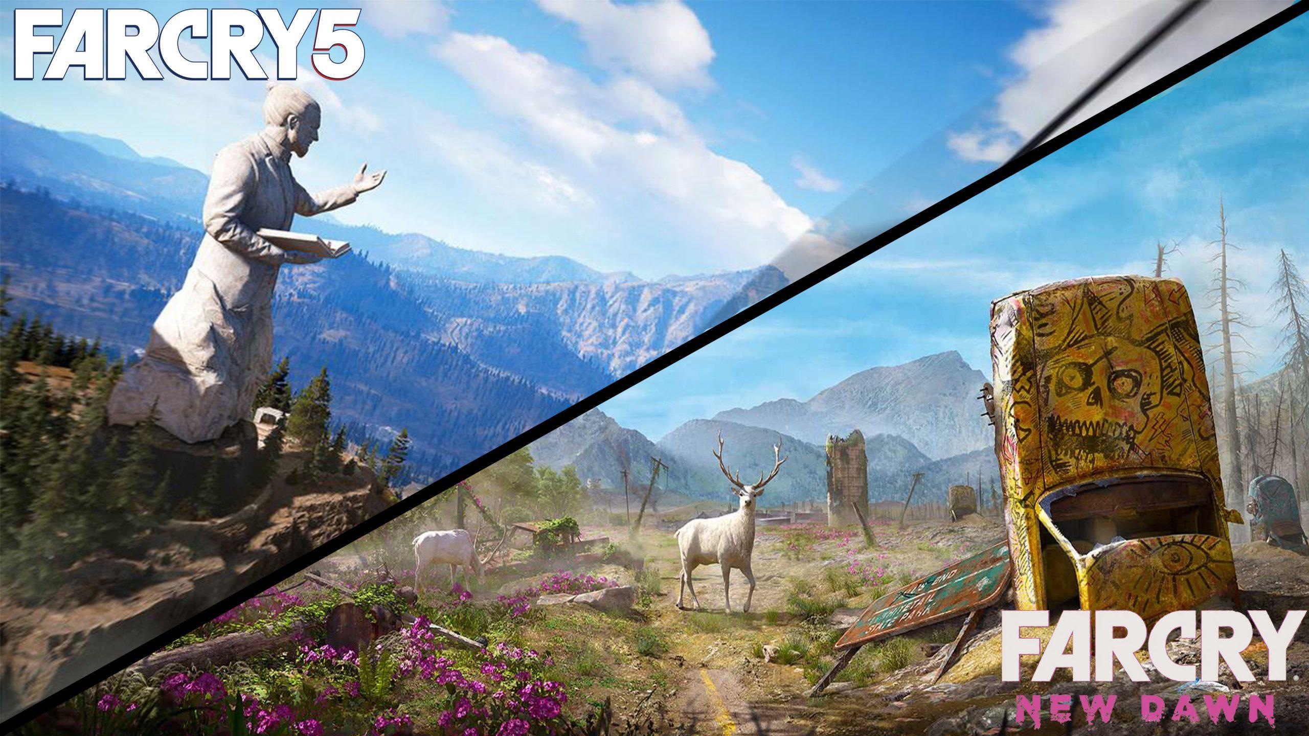 Muestran un vídeo de comparación entre Far Cry 5 y Far Cry New Dawn.