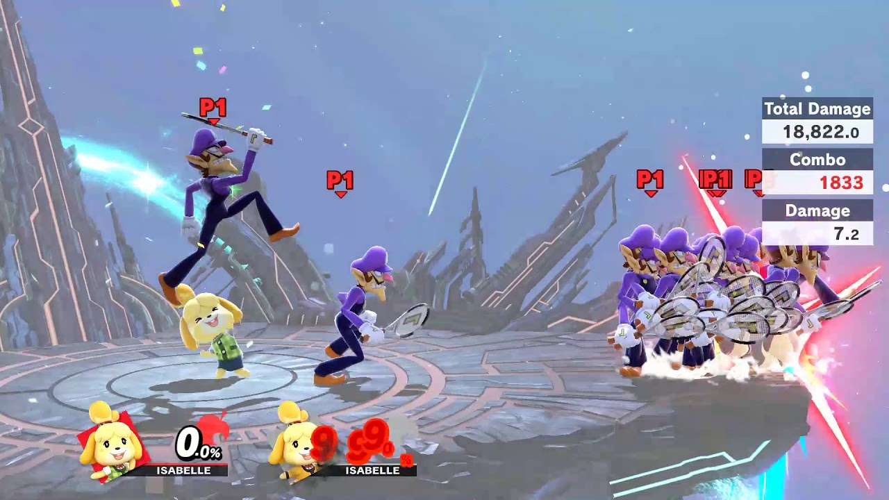 El último fallo de Super Smash Bros. te permite invocar trofeos de asistencia infinitos.