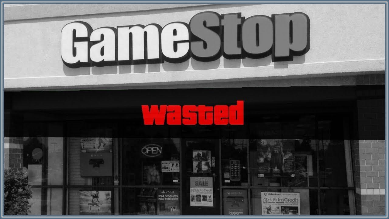 Las acciones de Gamestop se desploman luego de informar que ya no tienen comprador para la compañía.